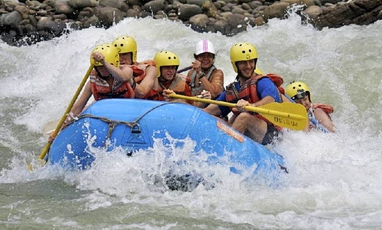 White Water Rafting Tours In Quepos