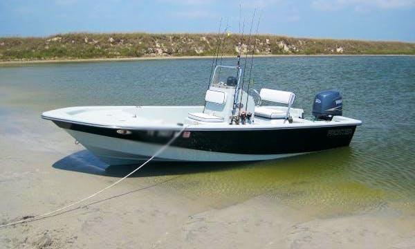 22' Custom Bay Fishing Boat In Laffitte
