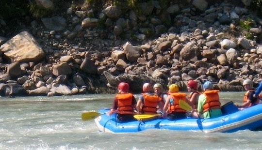 Rafting In Kathmandu, Nepal