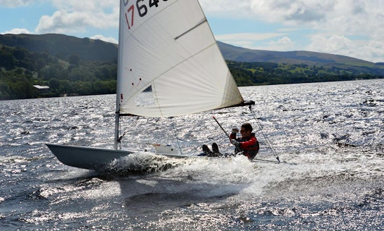 Daysailer For Hire & Rya Courses In Bala Lake