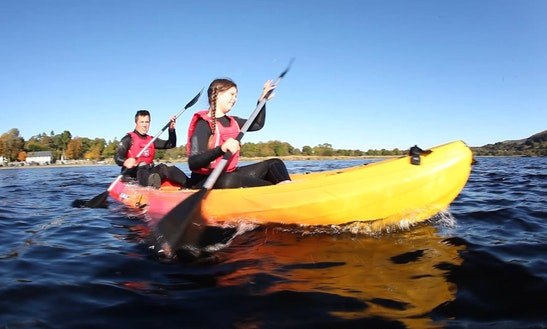 Kayak For Hire & Courses In Bala Lake
