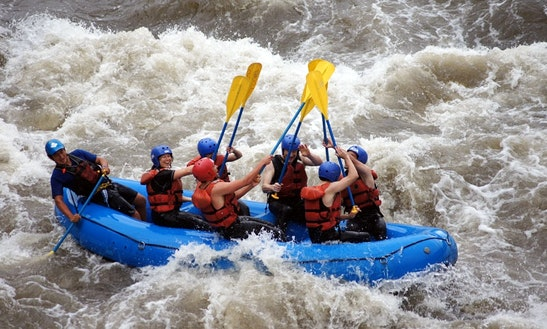 White Water Rafting In Baños De Agua Santa