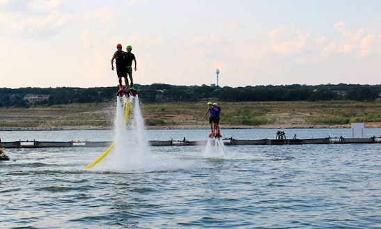 Flyboard Ride In Sylvan Lake