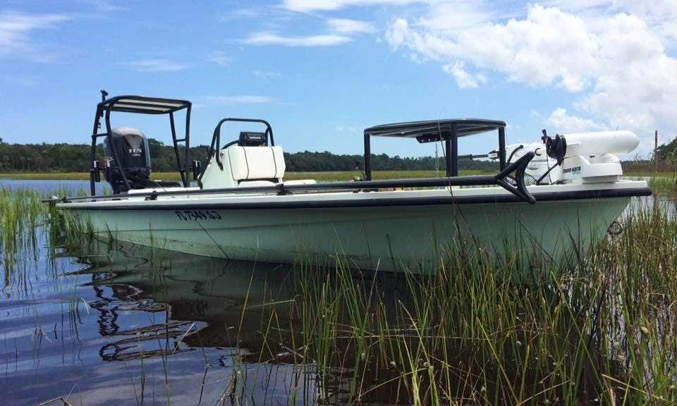 18ft Center Console Boat Charter in Jacksonville, Florida