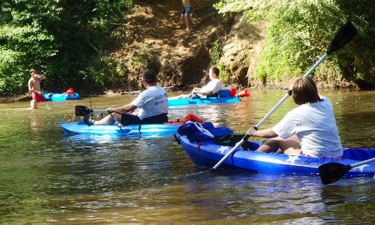 Single Kayak Rental In Tallapoosa River