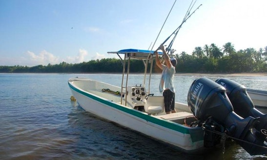 Enjoy Offshore Fishing On 27' Center Console In Parque, Panama