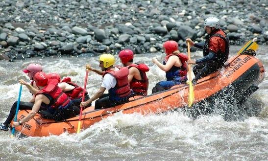 River Rafting In Baños De Agua Santa