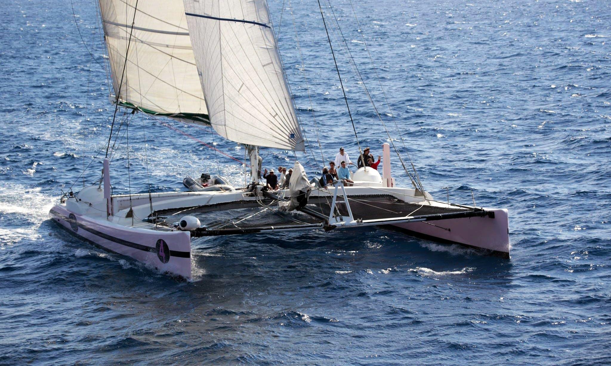 Sailing Catamaran Trips in Arradon