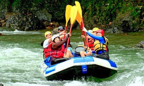 River Rafting In Turrialba