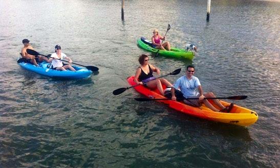 Double Kayak Rental In Tequesta, Fl