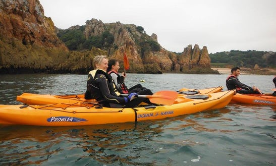 Sea Kayak Day Expeditions In Jersey, Uk