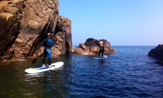 Stand Up Paddleboard Day Trips In Jersey, Uk