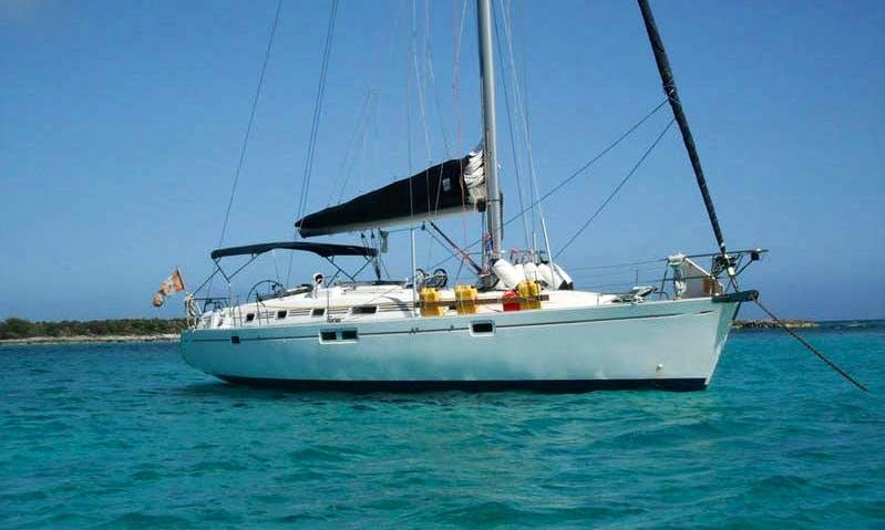 'Marina' Beneteau Oceanis 461 Charter in Santorini, Greece
