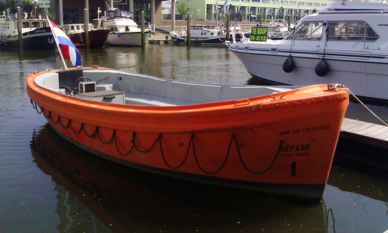 'gepard' Lifeboat Charter In Rotterdam