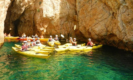 Self Emptying Sea Kayak Rental, Tours & Courses In L'escala, Spain