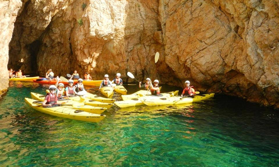 Self Emptying Sea Kayak Rental, Tours & Courses in L'Escala, Spain