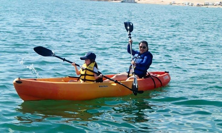 Fun Kayaking Day in Page, Arizona