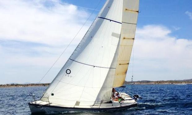 Enjoy Peoria, Arizona On 25' Catalina Sailboat
