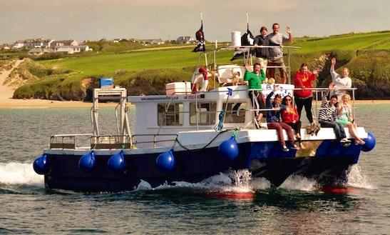 'atlantic Explorer' Fishing Charter & Sea Safari In Newquay
