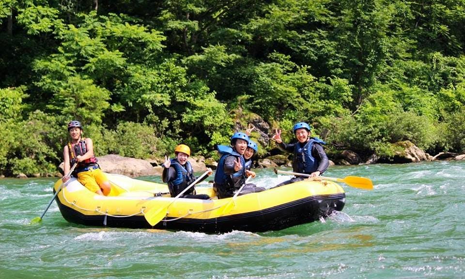 Rafting in Japan