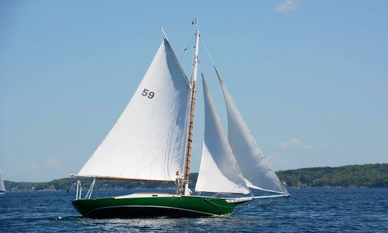 Enjoy Boothbay Harbor, Maine On 42ft