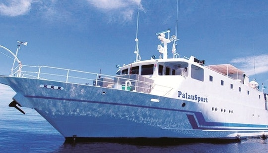 125' Liveaboard Motor Yacht In Palau