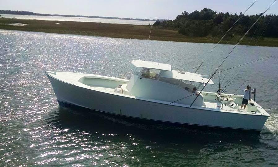 Fishing Charter On 50' C-Beagle Yacht In Morehead, North Carolina