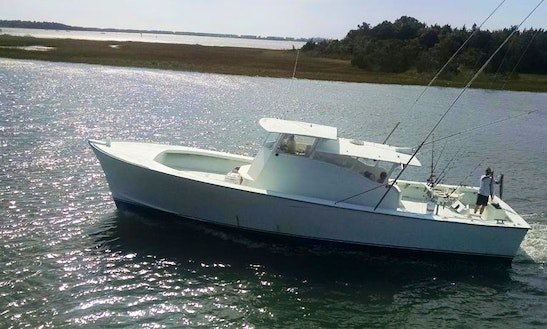 Fishing Charter On 50' C-beagle Yacht In Morehead, North Carolina
