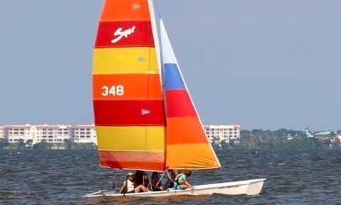 17' or 18' Catamaran Rental in Merritt Island, Florida