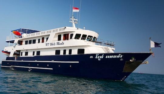 M/v White Manta Livaboard Diving Boat In Phuket, Thailand