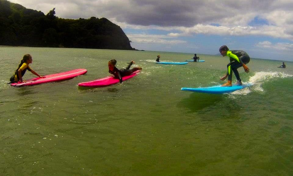 Surfboard Hire and Surfing Lesson In Waihi Beach