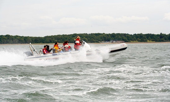Rib Powerboat Lessons In Southampton