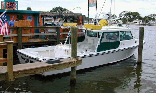 35' Markley Fishing Boat In Queenstown, Maryland United States