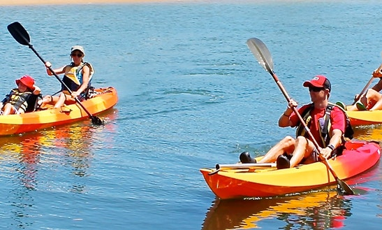 Tandem Kayak Rental In Broadbeach Waters, Australia