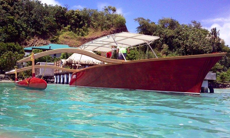 """27ft """"Piti uutai IV"""" Boat in Nūnu'e"""
