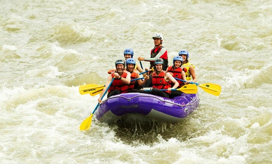 Whitewater Rafting Trips In Baños De Agua Santa, Ecuador