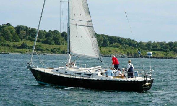 "42' Sailboat ""J/42 Affinity"" Cruising Monohull Sailing Charter in Newport, Rhode Island"