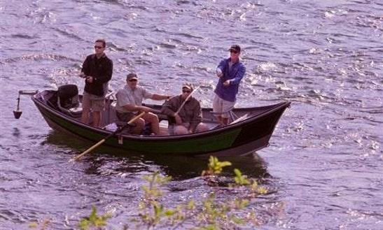 Row Boat Fishing Trips In Kalispell, Montana