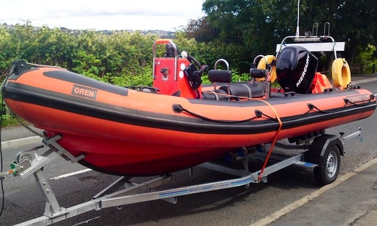 'budgie' Rya Powerboat Courses & Rental In Ballachulish