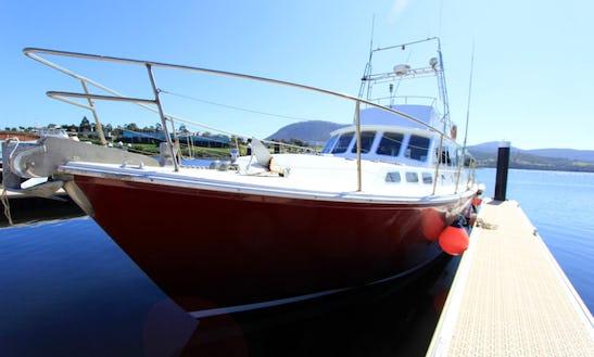 52' Motor Cruiser Charter In Hobart