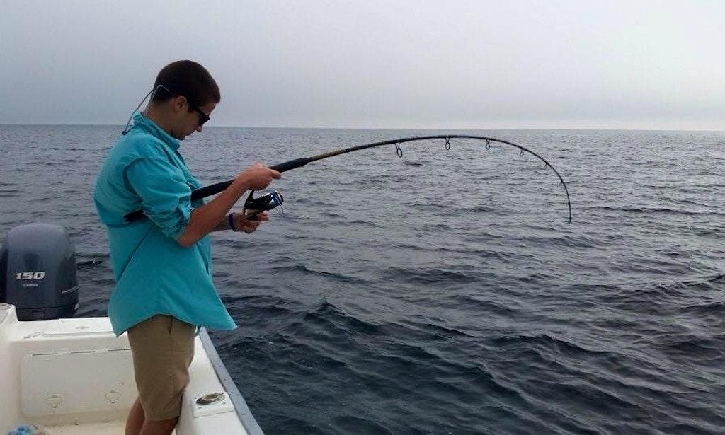 Inshore fishing on 22 39 cape horn boat in destin florida for Inshore fishing destin fl