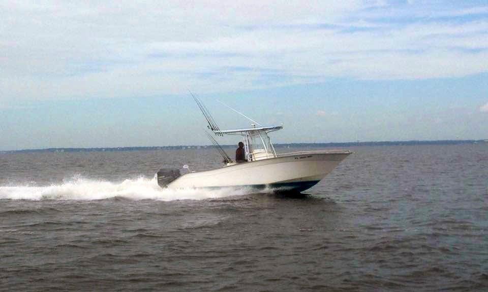 Inshore Fishing Charter On 24' Mako Boat In Destin, Florida