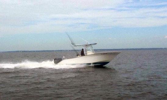 22ft reel lucky inshore fishing charter in destin for Inshore fishing destin fl