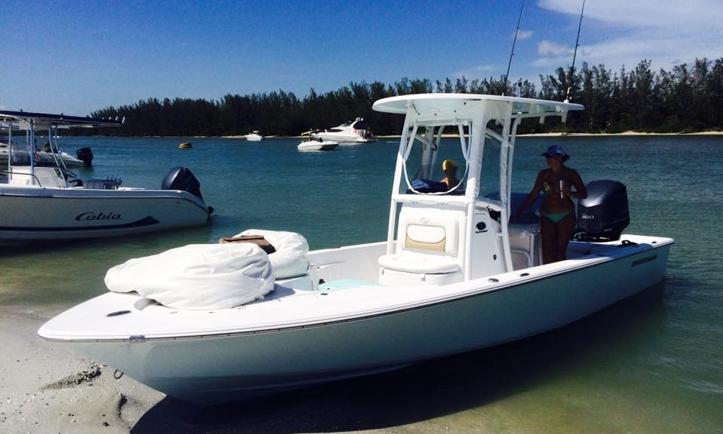 Enjoy fishing in cape coral florida on 24 39 sportman for Cape coral fishing charters