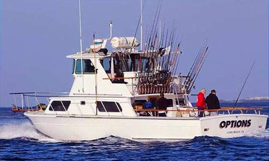 Long beach ca four reel sportfishing getmyboat for Long beach sport fishing