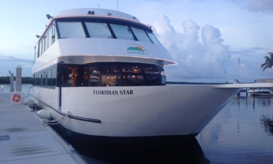 Private party charter on 75ft princess passenger boat in for Fort myers fishing party boats