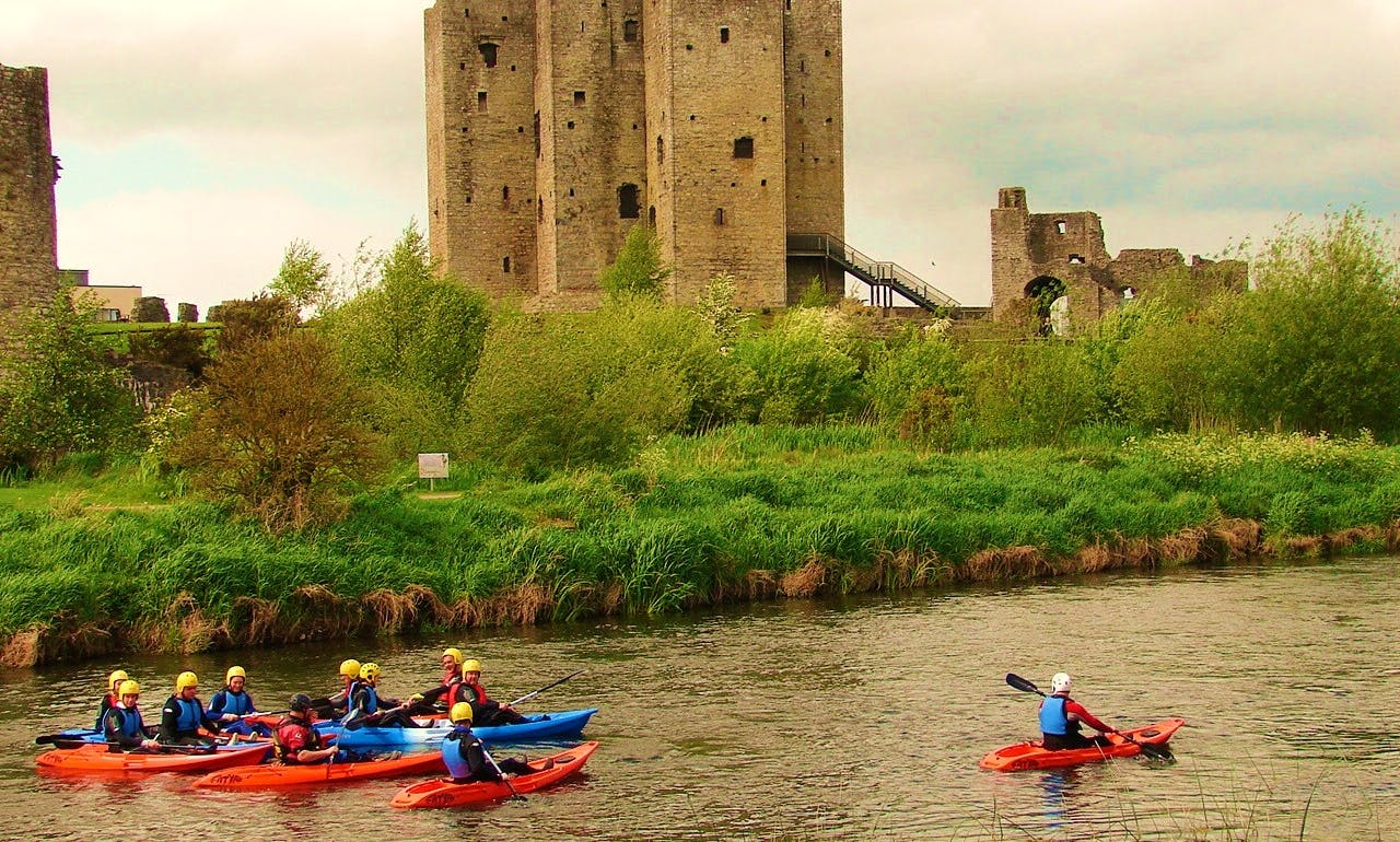 Kayak Trip In County Meath
