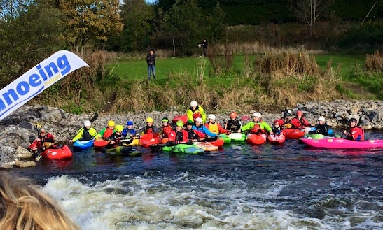 Self Guided Canoe Trip In Meath