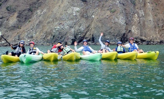 Single Kayak Rental & Classes In Avila Beach