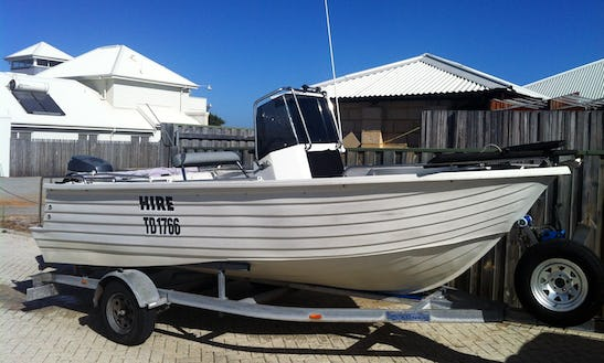17' Custom Polycraft Boat For Hire In Exmouth